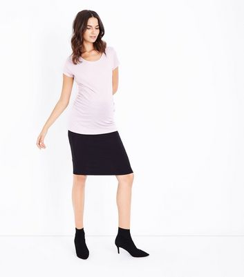 Maternity Shell Pink Short Sleeve T-Shirt New Look