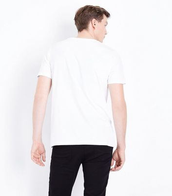 White NYC Graphic Front T-Shirt New Look