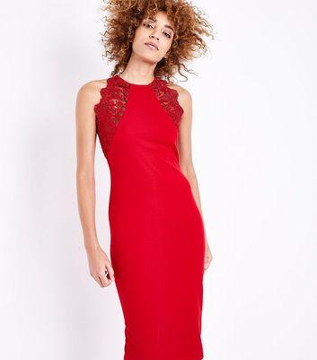 Rotes kleid festlich
