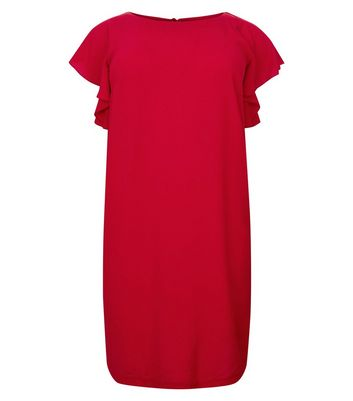 Curves Angel Sleeve Tunic Dress New Look