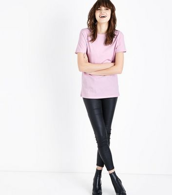 Pink Cotton T-Shirt New Look