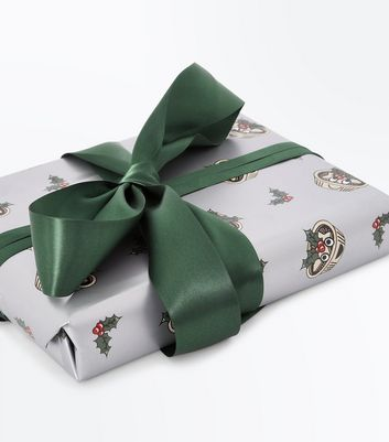 Christmas Mince Pie Gift Wrap New Look