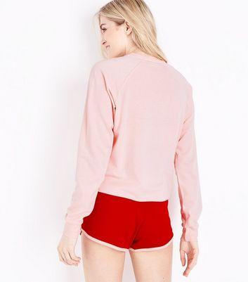 Pink Heart Breaker Pyjama Set New Look