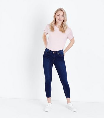 Petite Blue 26in Super Soft Super Skinny Jeans
