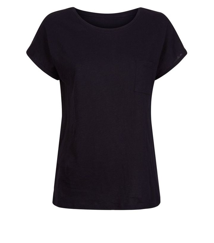 aa7914bf8237 ... Black Organic Cotton Pocket Front T-Shirt. ×. ×. ×. Shop the look