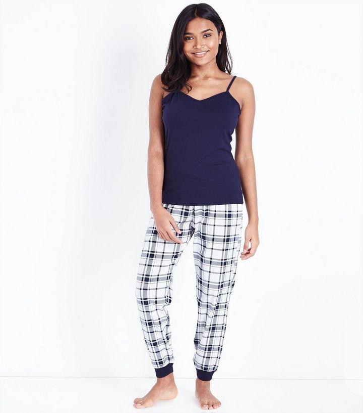 qualité supérieure gamme complète d'articles  Petite - Ensemble pyjama bleu à carreaux Ajouter à la Wishlist Supprimer de  la Wishlist