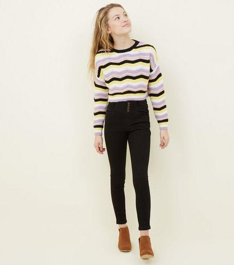 8ba893d2e89 Girls' Black Jeans   Black Jeans for Girls   New Look