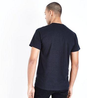 Black Alpha Slogan T-Shirt New Look