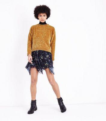 Mustard Chenille Jumper New Look