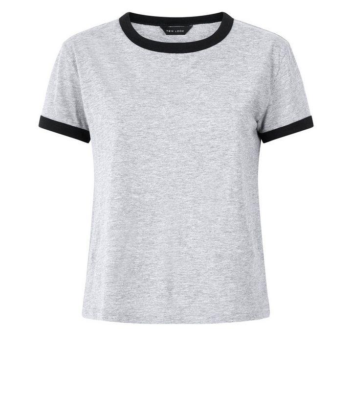 ae23b547 ... Grey Marl Ringer T-Shirt. ×. ×. ×. Shop the look