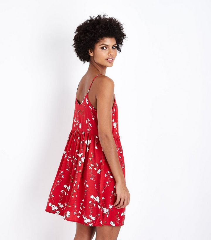 6971bf66a88 ... Red Floral Crochet Trim Sundress. ×. ×. ×. Shop the look