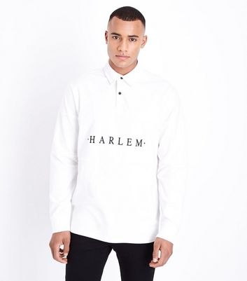 Off White Harlem Embroidered Rugby Top