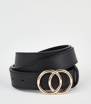 Black Circle Trim Belt