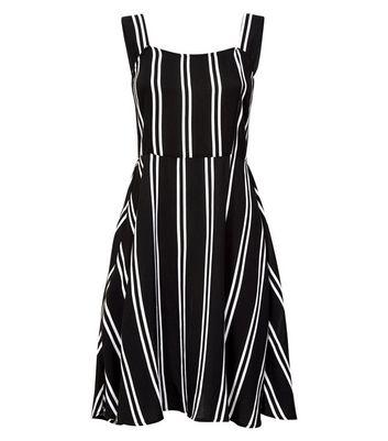 JDY Black Stripe Sundress New Look