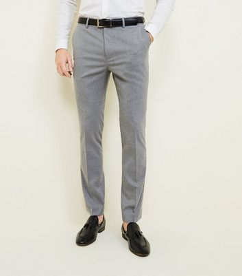 Dark Grey Skinny Trousers