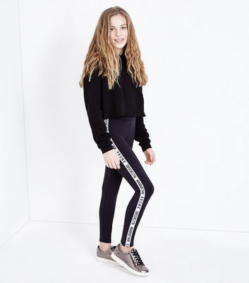 Possible and teen black leggings the
