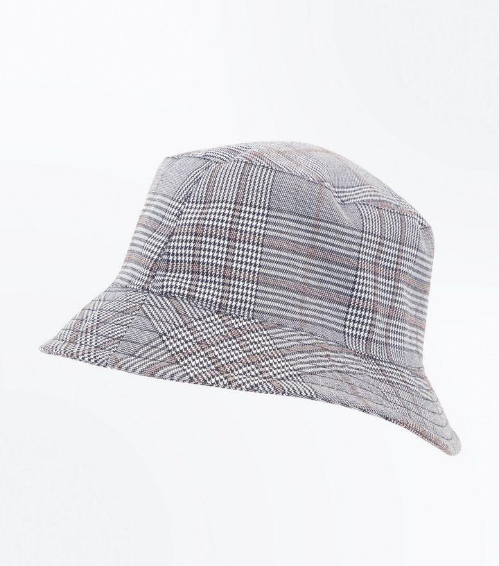Grey Prince of Wales Bucket Hat  45dfda3cd05b