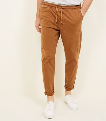 Light Brown Drawstring Trouser