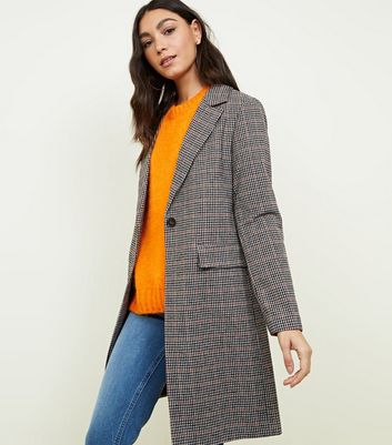 Manteau femme coupe droite gris