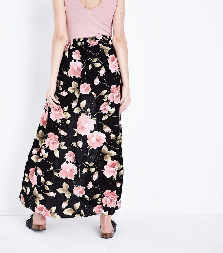 e782bdc14b ... Black Floral Maxi Shorts. ×. ×. ×. 1