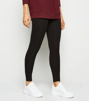 2 Pack Black Cotton Blend Leggings New Look
