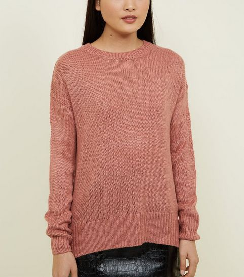 ab8445c4c2e17b Pink Knitwear | Pink Jumpers & Cardigans | New Look