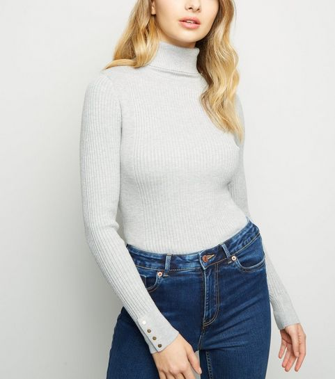 8c56b5bd6a5f07 Turtle Neck Jumpers | Polo & Roll Neck Jumpers | New Look