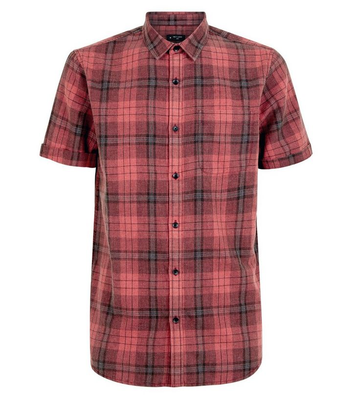 large discount innovative design classic Red Check Short Sleeve Shirt Add to Saved Items Remove from Saved Items