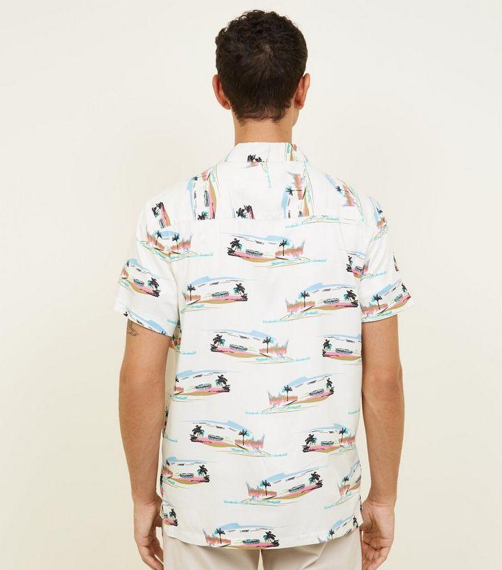 34f463c7ae ... Off White Beach Print Viscose Shirt. ×. ×. ×. Shop the look