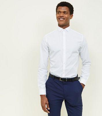 white-cut-away-collar-poplin-shirt by new-look