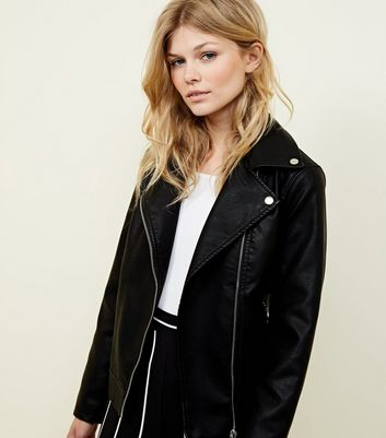 Women S Leather Look Jackets Faux Leather Jackets New Look