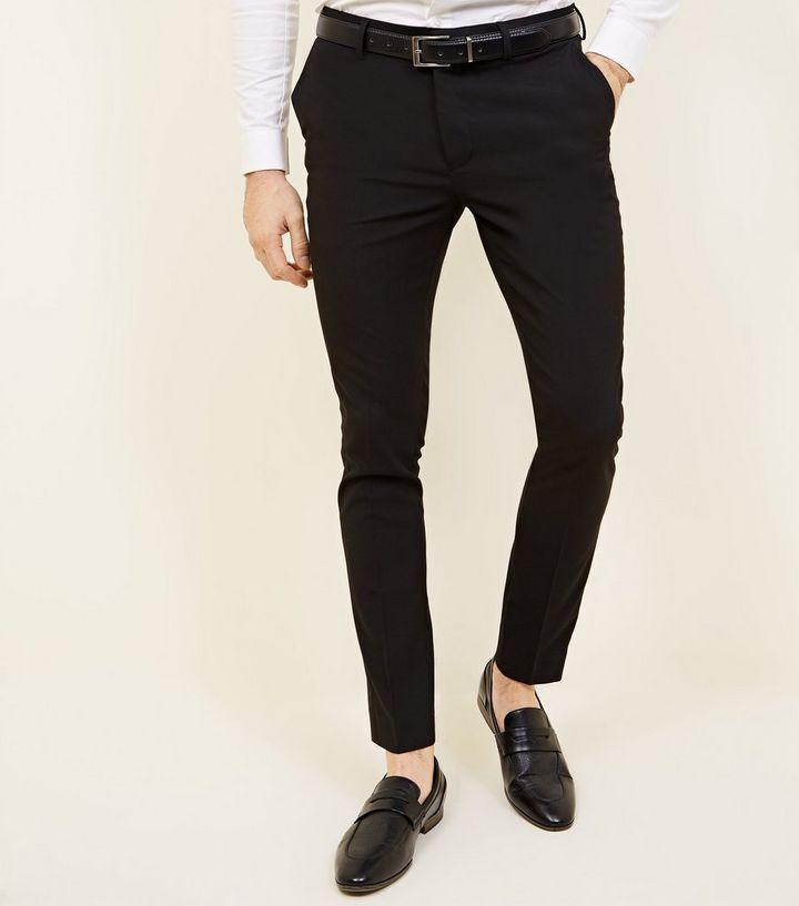 techniques modernes chaussures de course bon marché Pantalon de costume noir super skinny Ajouter à la Wishlist Supprimer de la  Wishlist