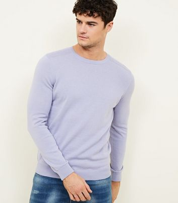 Lilac Crew Neck Jumper