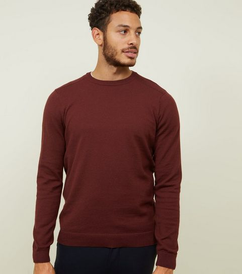 19f988ead17d Men's Knitwear | Men's Knitted & Cable Knit Jumpers | New Look