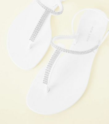 Strap Jelly Sandals