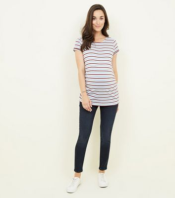 Maternity Navy Jeggings