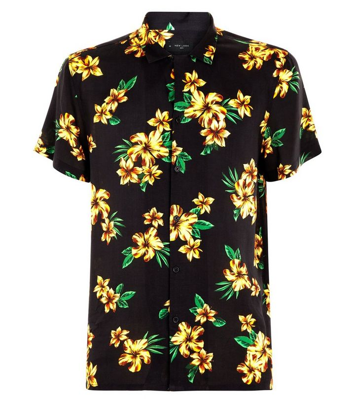36ac72f58bc ... Mustard Floral Print Short Sleeve Shirt. ×. ×. ×. Shop the look