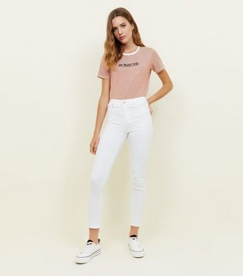 White Super Skinny 'Lift & Shape' Jeans