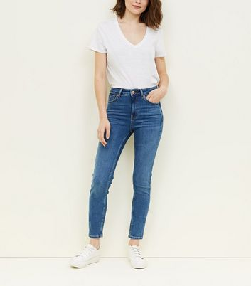Blue Super Skinny 'Lift & Shape' Jeans