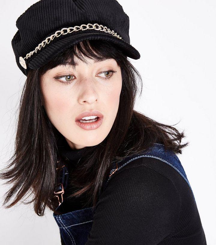 ... Black Chain Cord Baker Boy Hat. ×. ×. ×. Shop the look c2c240ae55b