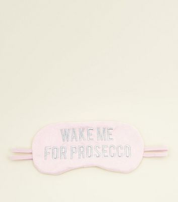 Pink Prosecco Eye Mask