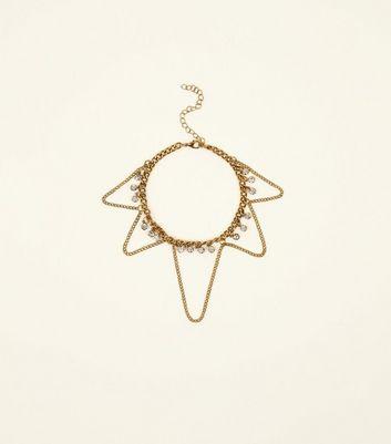 Gold Drop Chain Diamant