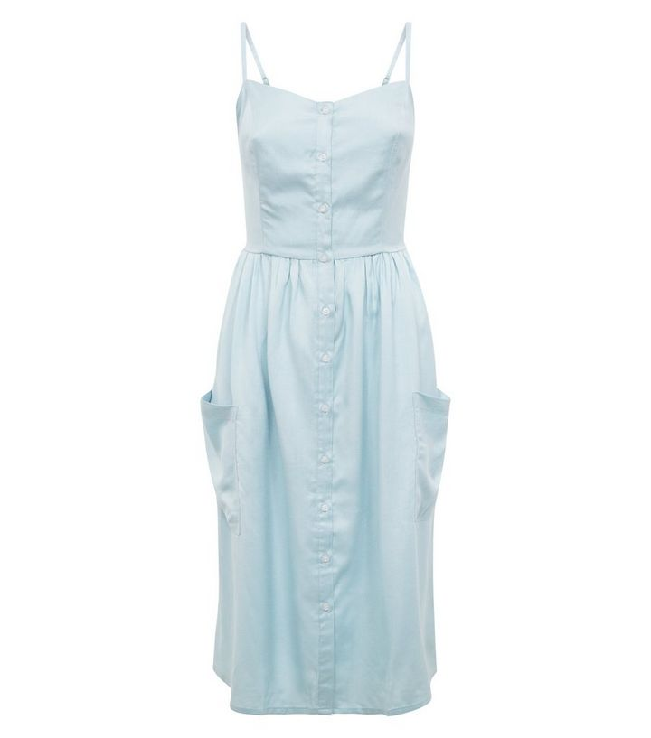7a9420f180e1 ... Tall Pale Blue Button Front Midi Sundress. ×. ×. ×. Shop the look