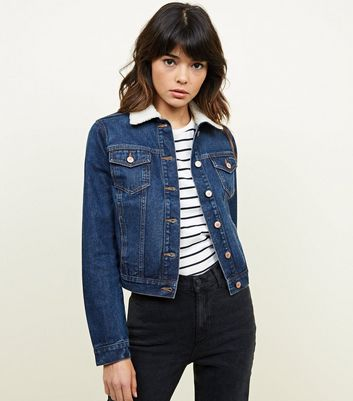 Denim Look Jean En Vestes Femme New 6q8H6RA