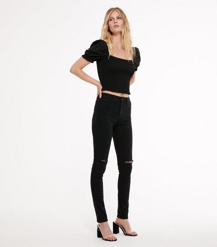 d7c236396ba10 Tall Black Skinny Jeans | New Look