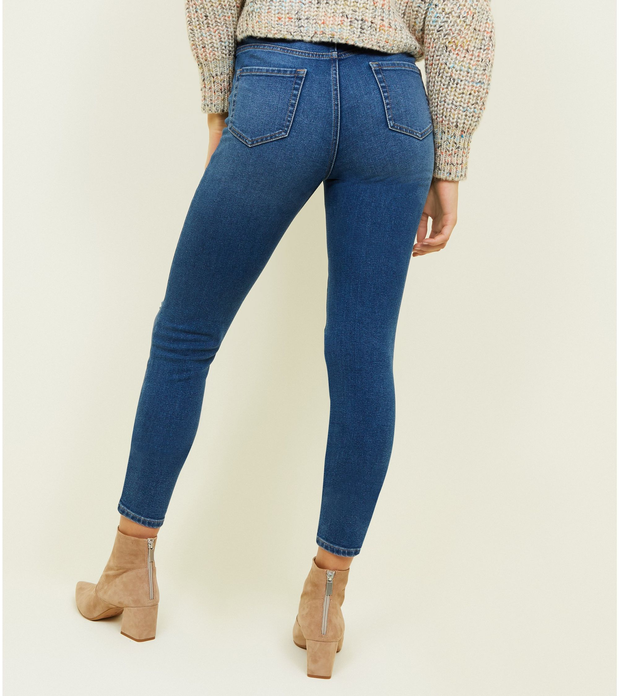 b7b1a407a27 New Look tall ripped knee skinny jeans at £15.99 | love the brands