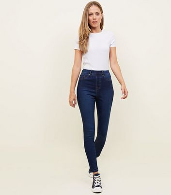 Tall Blue Rinse Wash Jeggings