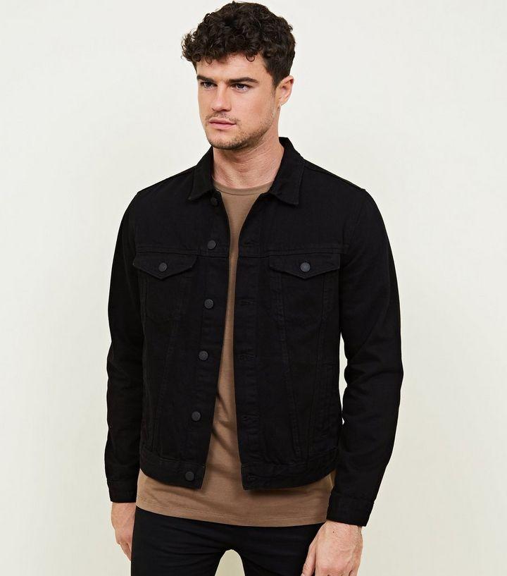 9fb51f6772 Black Denim Jacket