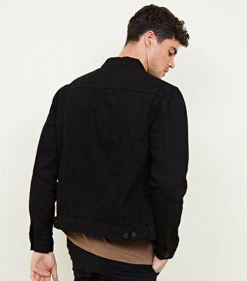shop for Men's Black Denim Jacket New Look at Shopo