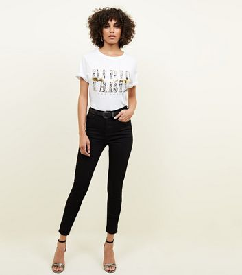 Black Premium High Rise 'Lift & Shape' Jeans